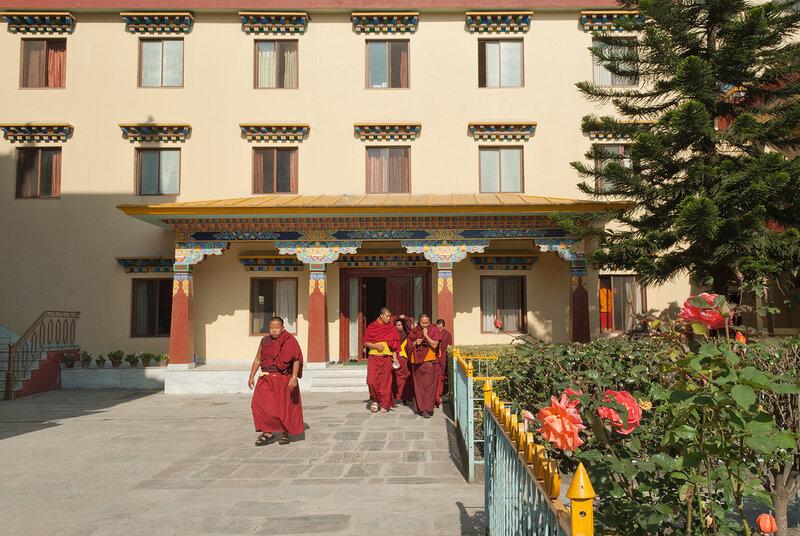 Катманду. Монастырь Шечен