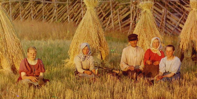 Русские люди. Начало XX века