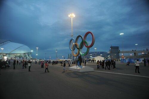 Как кипела жизнь в Олимпийском парке