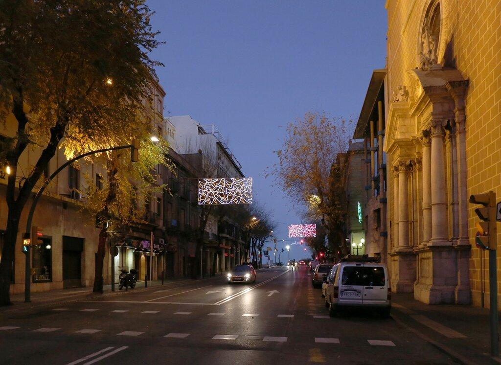 Таррагона, центр, вечер