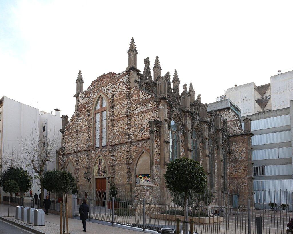 Реус. Маршрут модерна. Церковь Святого Иоана. Església de Sant Joan Reus.  modern route.
