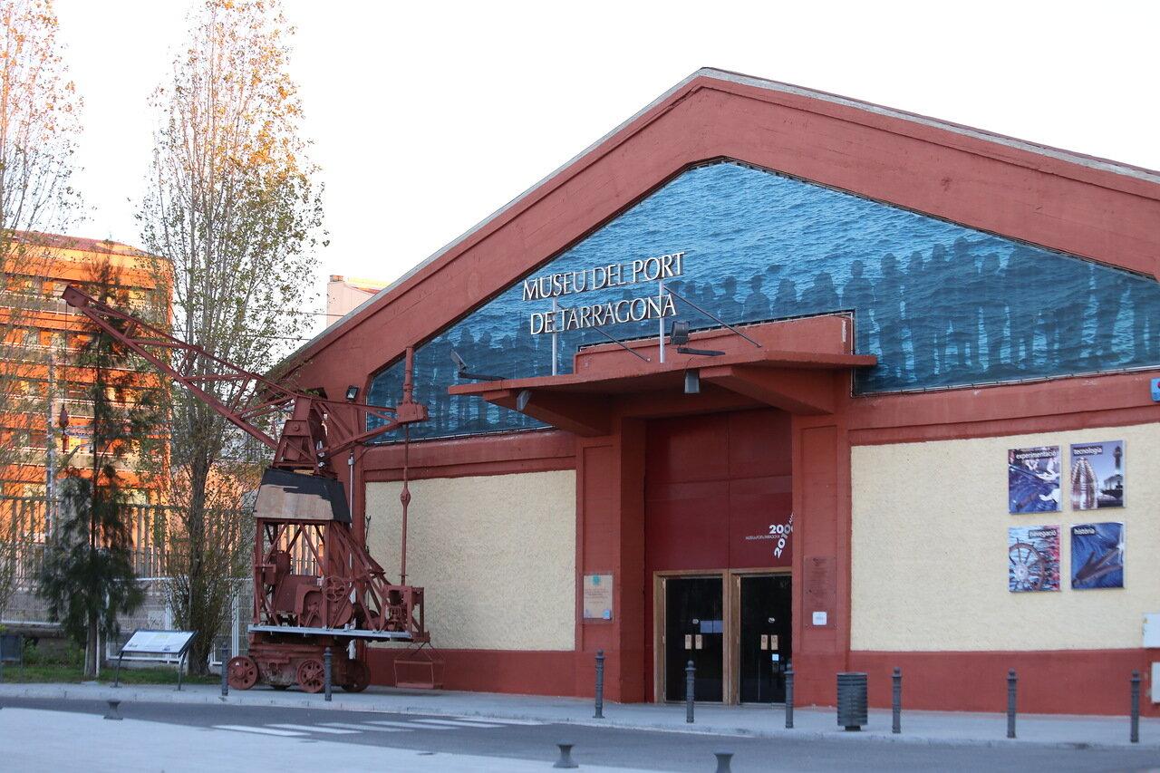 Tarragona. The Museum of the port. Museu del Port de Tarragona
