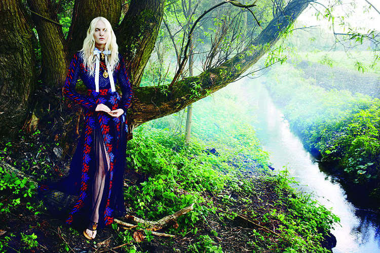 Майа Саломон в Pani Magazine