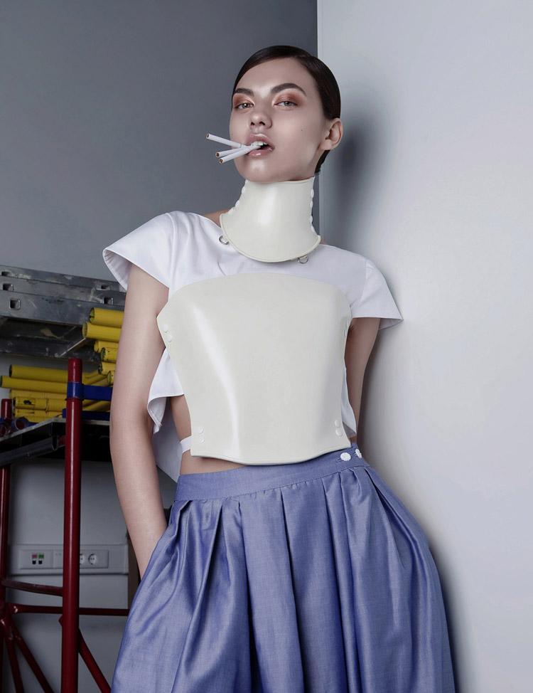 Анастасия Милицевич в фотосессии Анастасии Арсеник