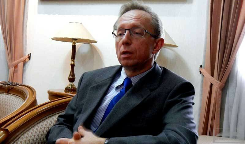 Посол РФ Михаил Галузин