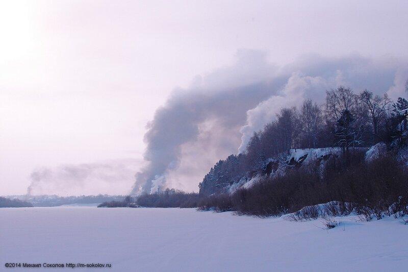 Крушение поезда и пожар железнодорожных цистерн с газовым конденсатом в Нововятске