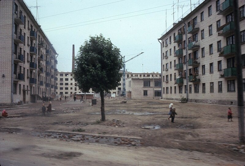 Новый район Выборга, 1965