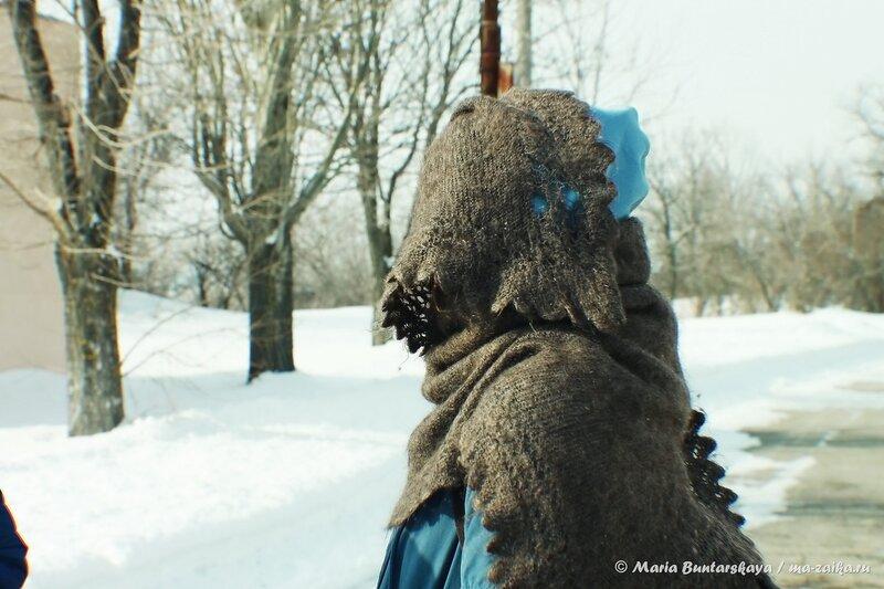 Смешанный лес, Саратов, парк Победы, 23 февраля 2014 года