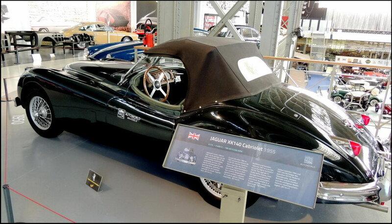 Autoworld 8412 Jaguar XK140 Cabriolet 1955