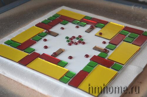 Изготовление часов в технике фьюзинг