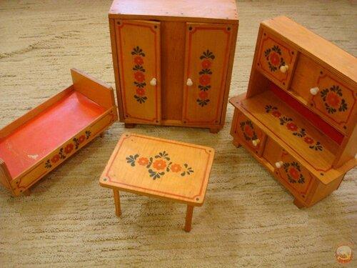 Детская мебель своими руками для кукол из картона