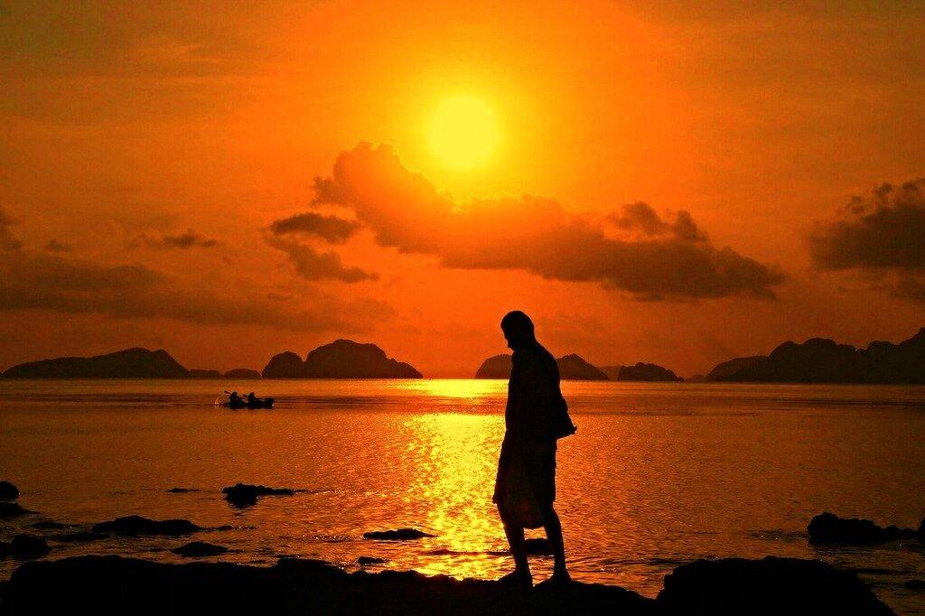 Рассвет  на Филиппинах