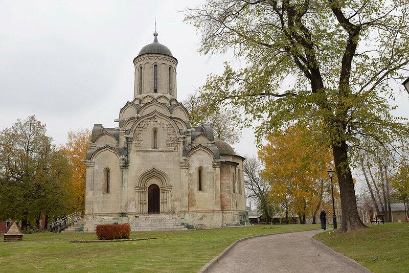 Москва. Спасо-Андроников монастырь.