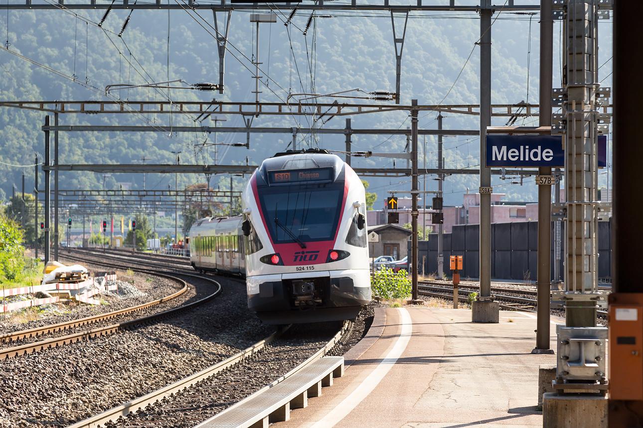 Станция Мелиде