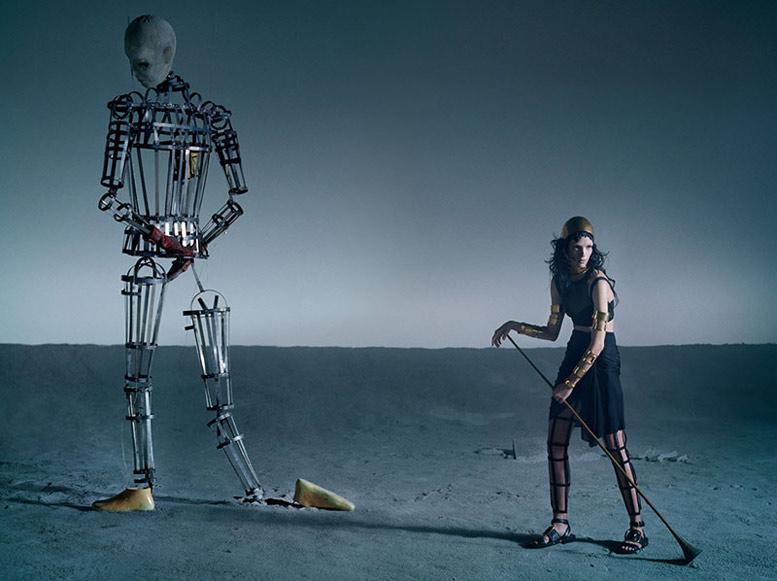 -Воин- МарияКарла Босконо / Mariacarla Boscono by Tim Walker for Vogue Italia March 2014 / Like a Warrior
