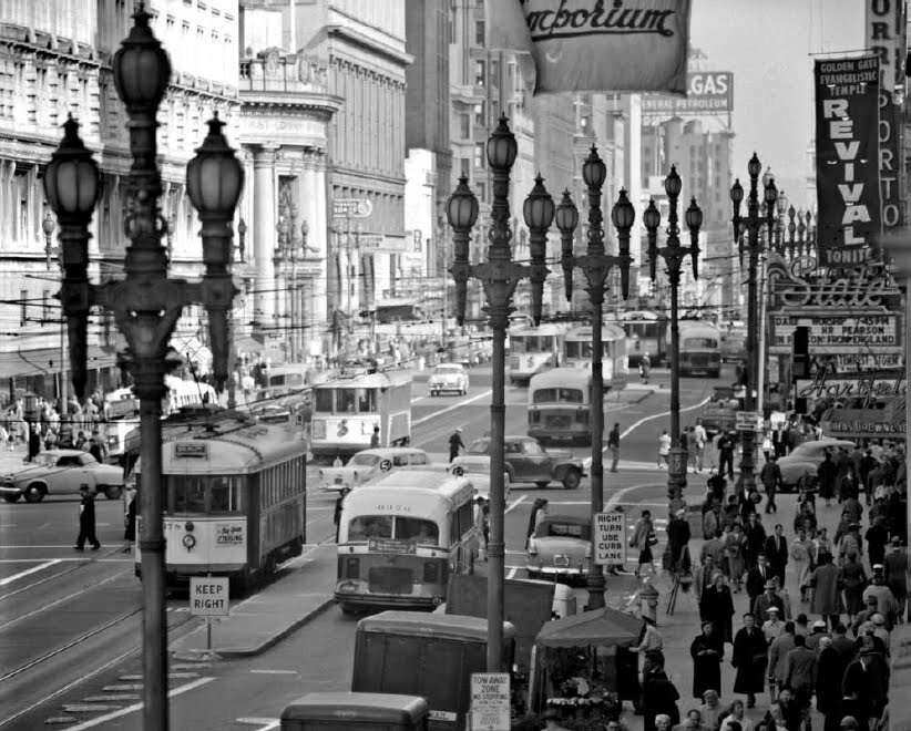San Francisco By Fred Lyon 1948 1958 Liveracing