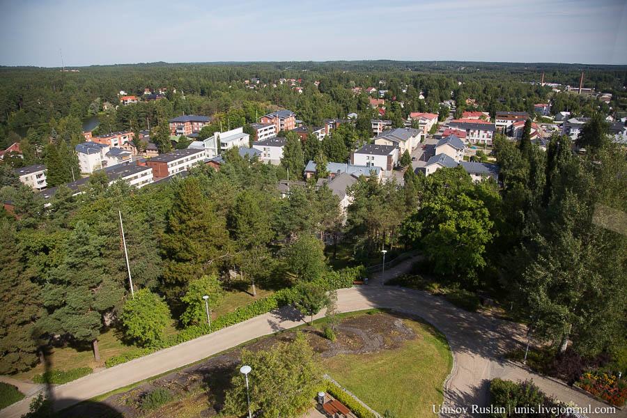 Путешествие на машине по Финляндии