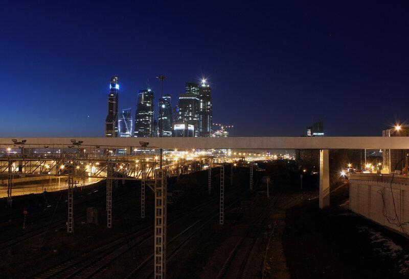 Пресня и Москва-Сити