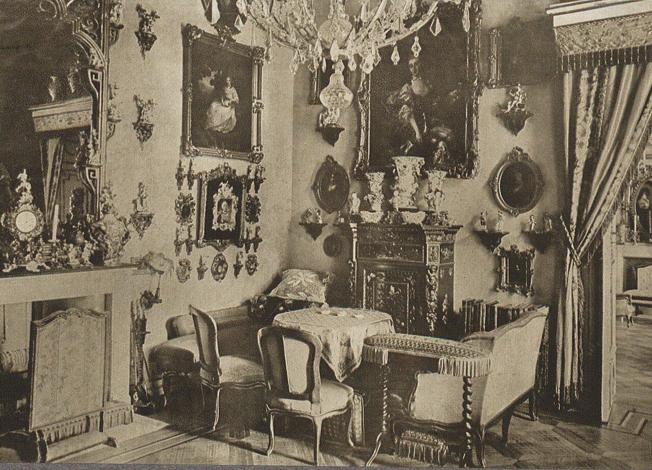 Вилянувский дворец. Интерьеры залов