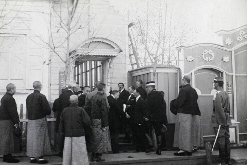 Открытие советского консульства, Хэйхэ , 1924