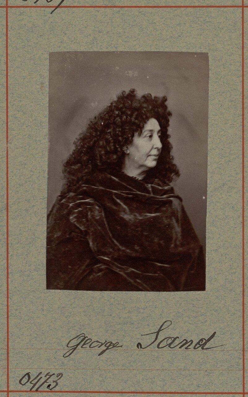 Жорж Санд (настоящее имя — Амандина Аврора Люсиль Дюпен 1 июля 1804 — 8 июня 1876) — французская писательница.