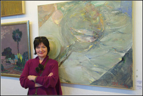 Выставка «Весна 2014». ВЦСПбСХ. Дарья Коллегова.