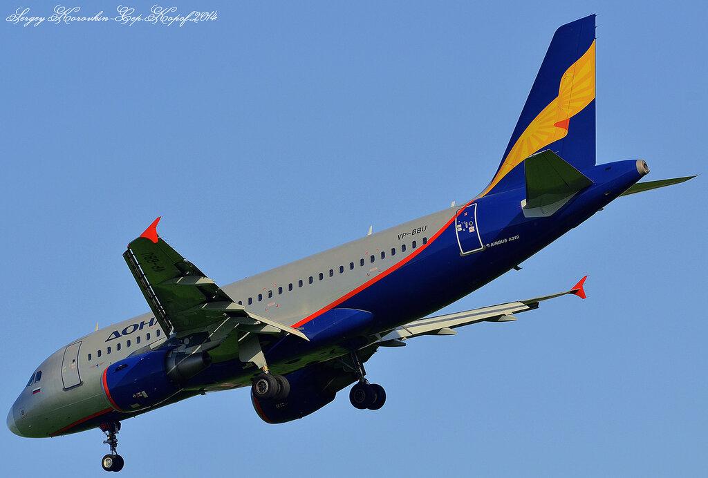 Airbus A319-112 Donavia