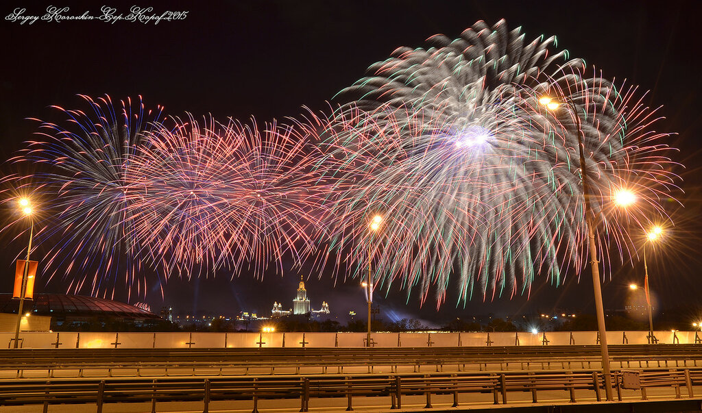 9 мая,День победы 2015,Воробьёвы горы №6