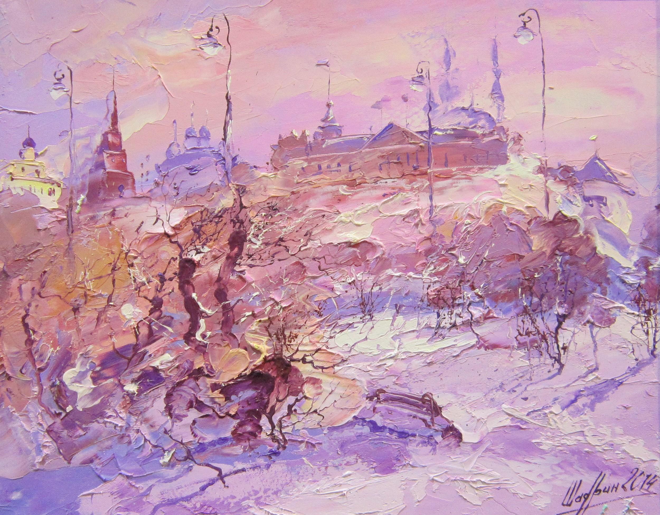 Александр Шадрин (род. в 1968 году.). Пейзаж. 2014 год.