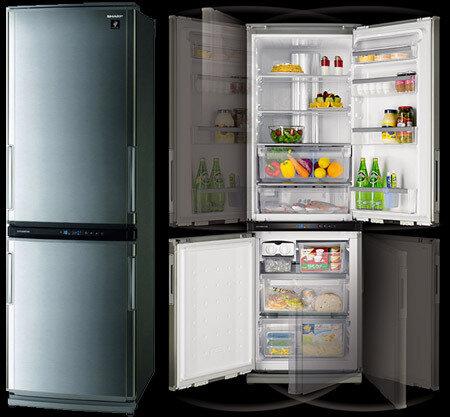 Современные холодильники Sharp
