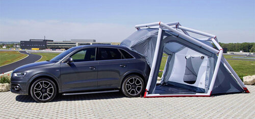 Audi Q3 в роли туристического кроссовера