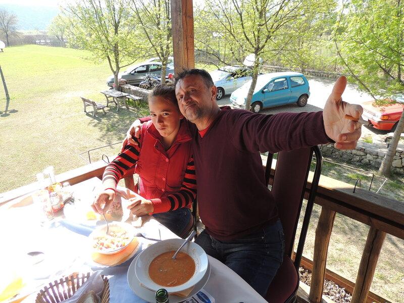 ресторан на Шасском озере