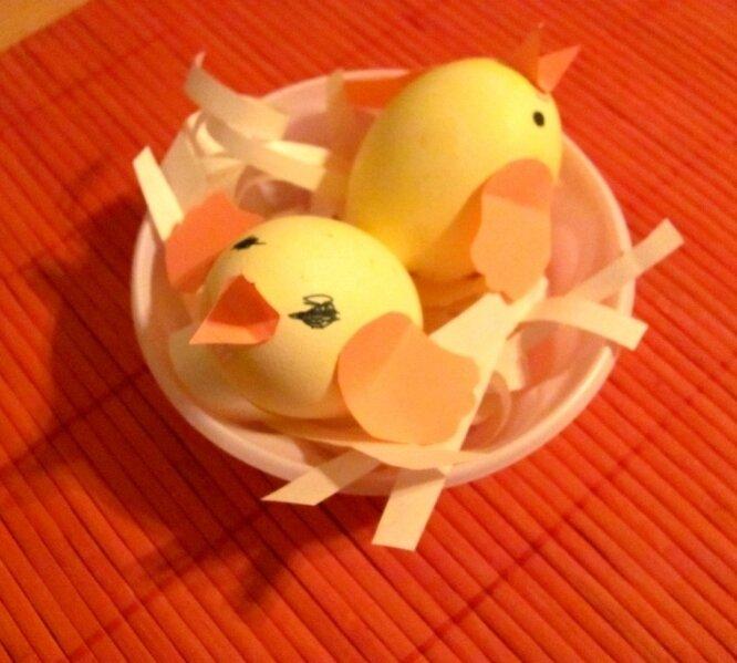 Оригинальные идеи поделок из яиц