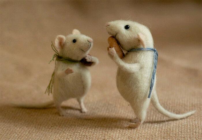 Фото «Изумительные кошки-мышки»