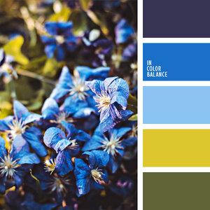 гармоничные цветовые сочетания