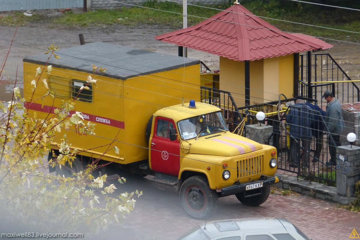 ГАЗ-53 Аварійна служба газу