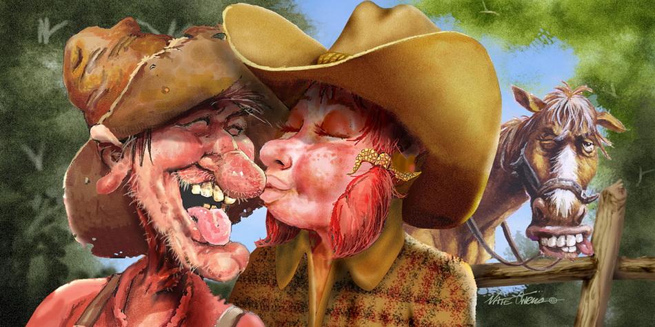 картинки про ковбоев смешные преданий судьбе самоцвета