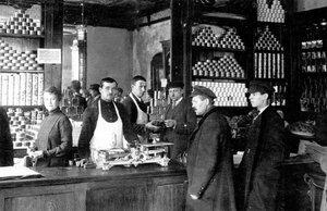 Соловьевский магазин в Петрограде в период НЭПа