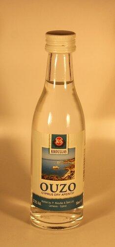 Настойка Kkoulas Ouzo Cyprus Dry Aperitif