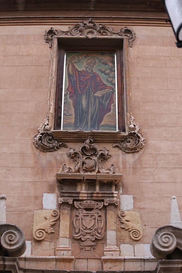 Castelló de la Plana, Кастельон де ла Плана,церковь  Св. Августина, Iglesia de San Agustín