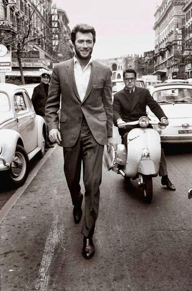 6. Клинт Иствуд в Риме (60-е) 7. Воскресное утро в Чикаго (1941)