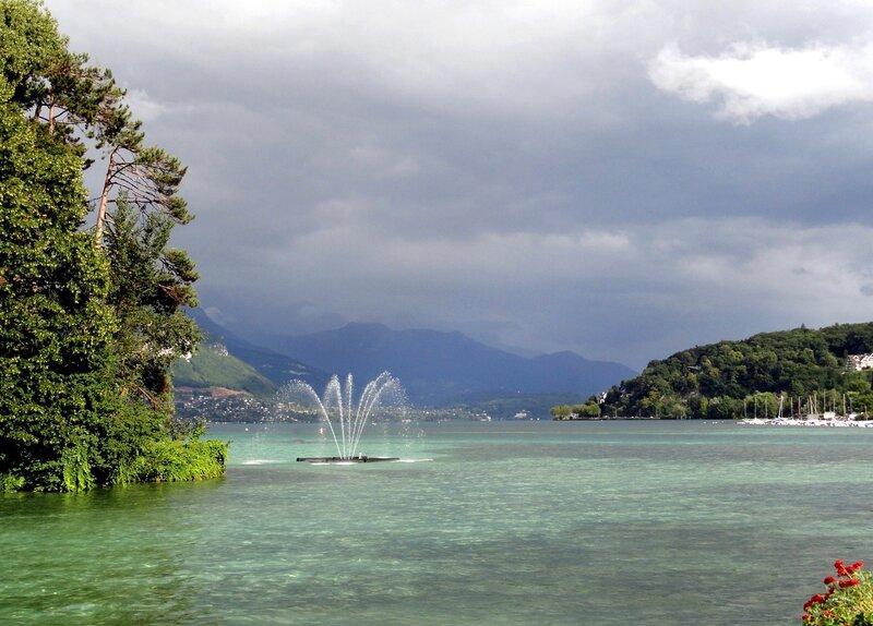 Предгрозовое озеро.