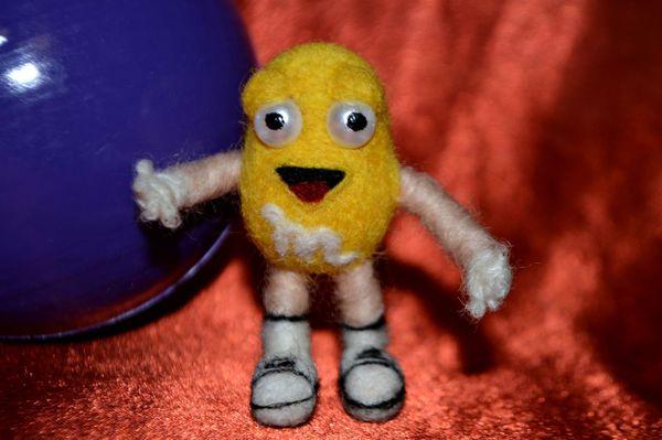 Валяем желтый M&Ms