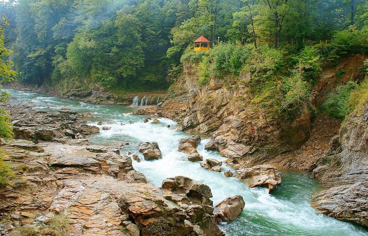 Река Белая, Адыгея
