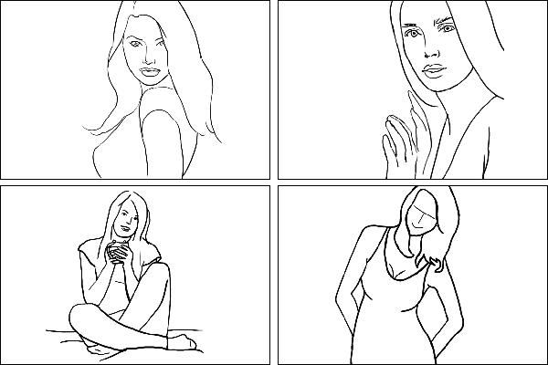 Позы для женского портрета - 2