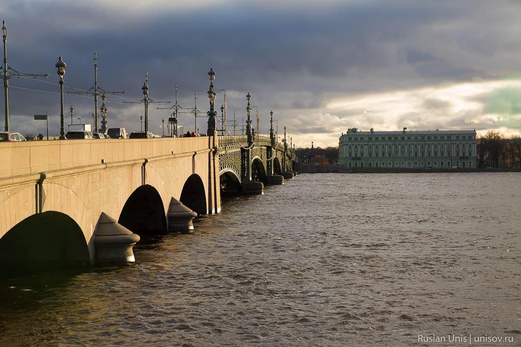 В Питере наводнение
