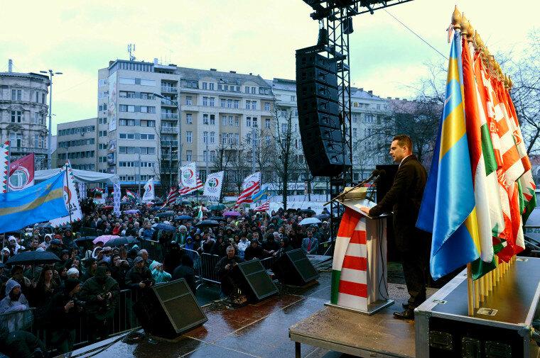 OGY2014 - Jobbik - Március 15. - A Jobbik rendezvénye Budapest