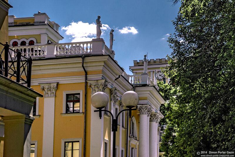 Гомель. Дворец Румянцевых-Паскевичей