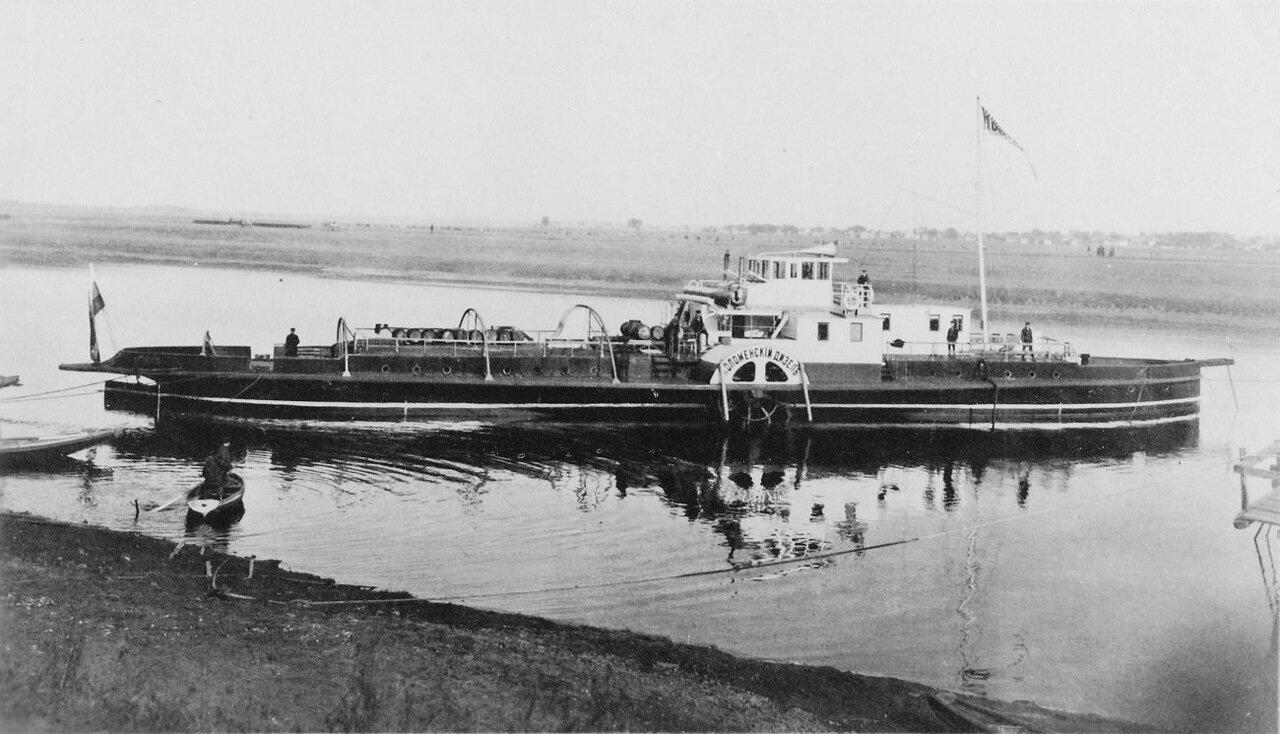 Колесный пароход «Коломенский дизель»