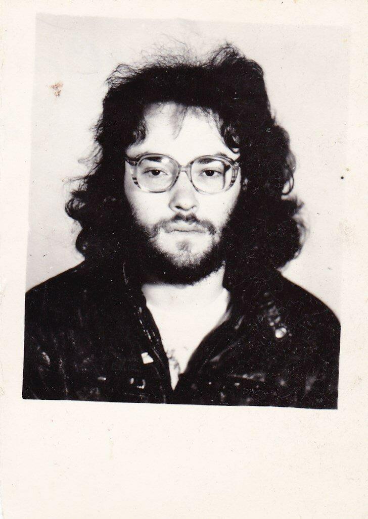 1990-е. Фотография с очередного утерянного паспорта